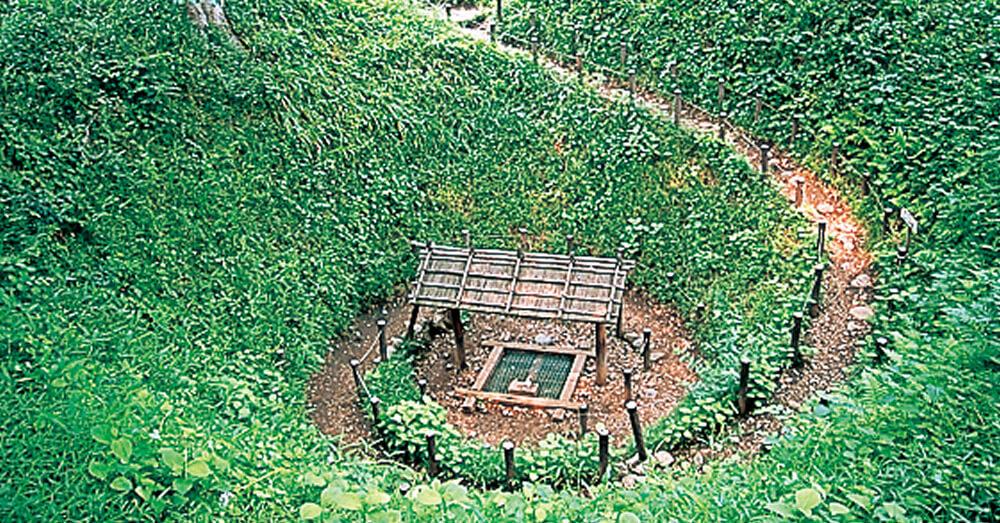 五ノ神社  まいまいず井戸